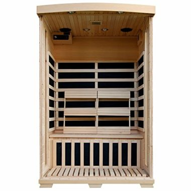 Radiant Saunas Hemlock 2 Person Infrared Sauna