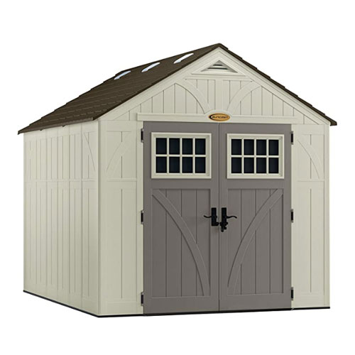 Suncast Tremont Outdoor Resin Bike Shed