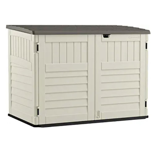 Suncast Stow-Away Horizontal Bike Shed