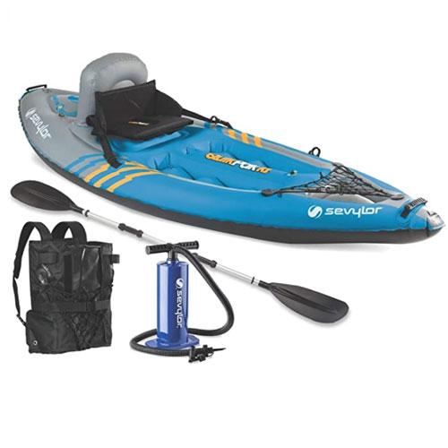 Sevylor Quikpak K1 Lake Kayak
