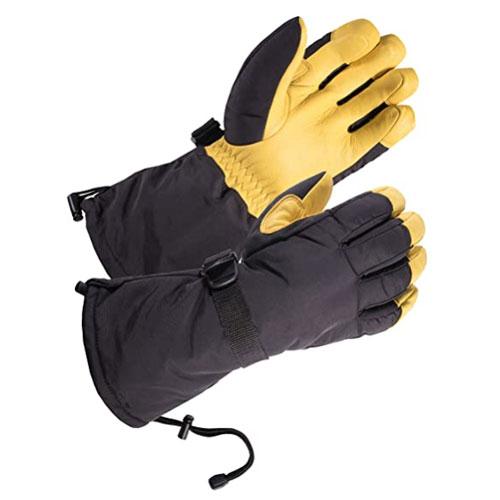Skydeer Genuine Deerskin Cross Country Ski Gloves
