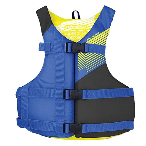 Stohlquist Youth Fit Life Jacket For Non Swimmer