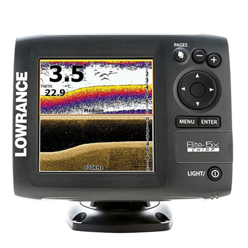 Lowrance Elite 5X Chirp Transducer Fish Finder
