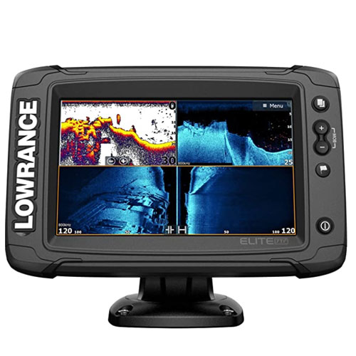 Lowrance Elite Active Imaging Wireless C-MAP Fish Finde