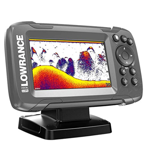Lowrance HOOK2 4-Inch GPS Fish Finder