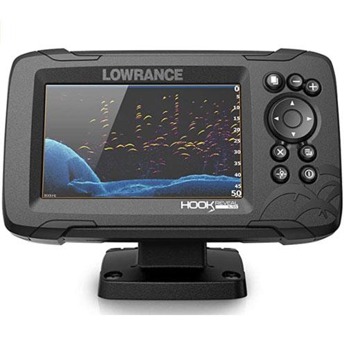 Lowrance Hook Reveal 5-Inch SplitShot GPS Fish Finder