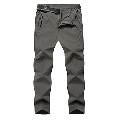 TBMPOY Men's Outdoor Mountain Waterproof Fishing Pants
