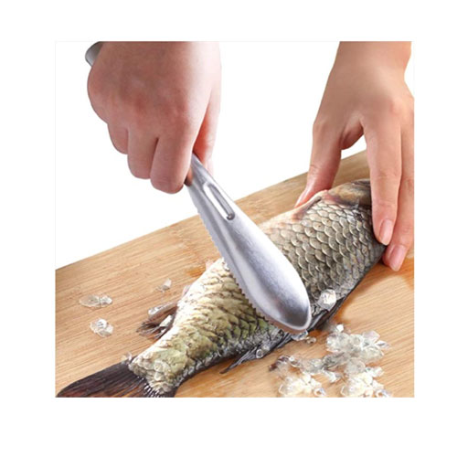 COPORA Stainless Steel Brush Fish Scaler