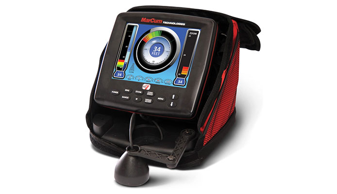 Marcum LX-7 Ice Fishing Sonar System Fish Finder Review