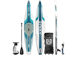 NIXY_12'6″_Manhattan_G4_Performance_Inflatable_Stand_Up_Paddle_Board_Review