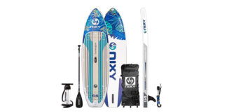 NIXY_9'6″_Huntington_G4_Adventure_Inflatable_Stand_Up_Paddle_Board_Review