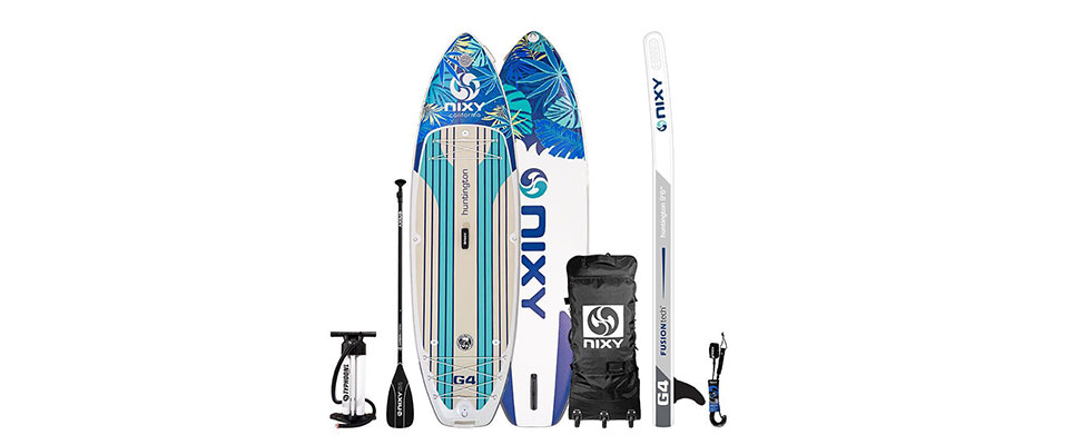 NIXY 9'6″ Huntington G4 Adventure Inflatable Stand Up Paddle Board Review